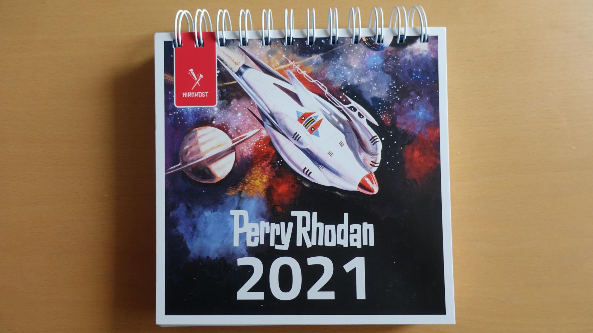 Perry Rhodan Tischkalender 2021