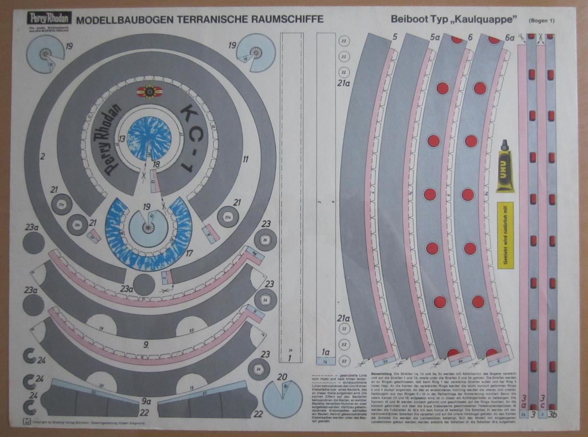 Die folgende abbildung zeigt den bogen f r die space jet